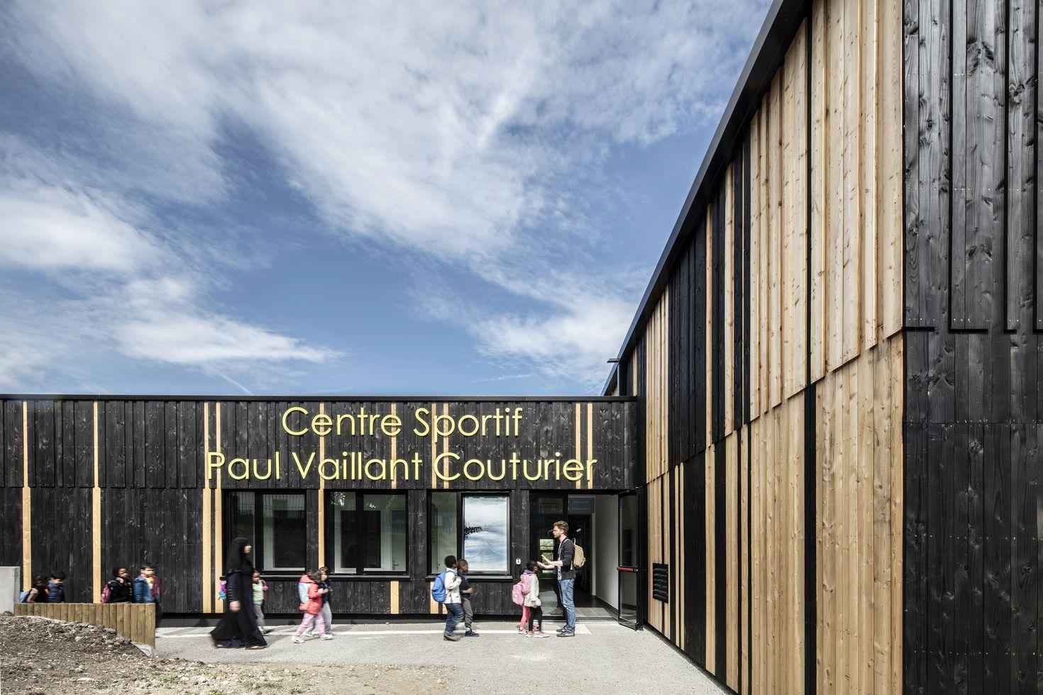 bon Centre sportif Paul Vaillant-Couturier à Nanterre, 92. Galerie du0027images. u2022  · u2022 · u2022 · u2022 · u2022 ...