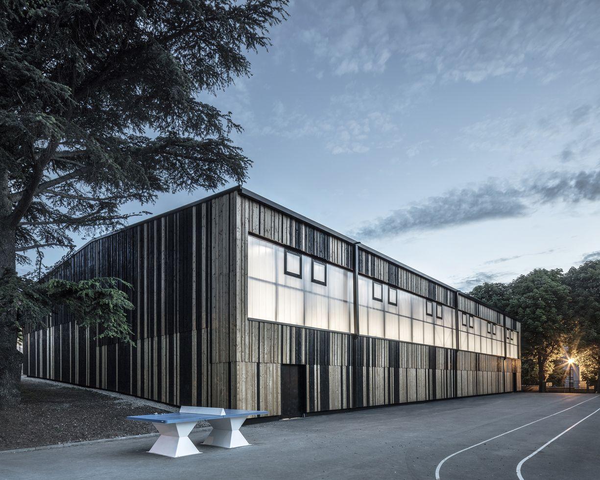 génial Centre sportif Paul Vaillant-Couturier à Nanterre, 92. Galerie du0027images. u2022  · u2022 ...